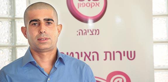 איציק בן אליעזר, מנכל אקספון / צלם: איל יצהר